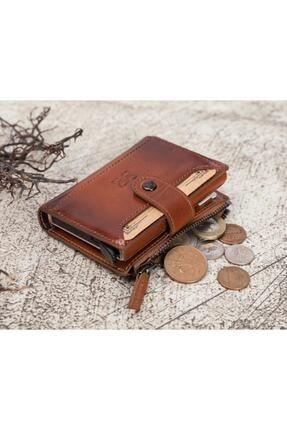 Bouletta Deri Kartlık-cüzdan Rfıd Rst2ef Taba 0