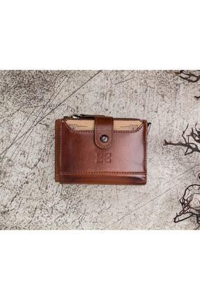 Bouletta Deri Kartlık-cüzdan Rfıd Rst2ef Taba 3