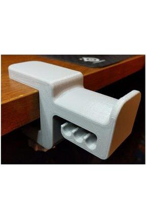 AldımGeldi Kulaklık Tutucu Standı Headset Stand Sıkıştırmalı Ayarlamalı 3