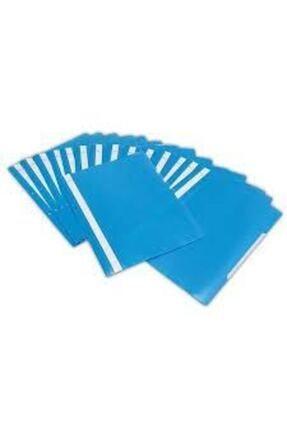 Noki Nokı Eco Telli Dosya 50 Li Paket Mavi 1
