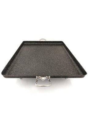 Kayso Granit Ocak Üstü Pisirme Sacı Izgara Kulplu 45x45 3