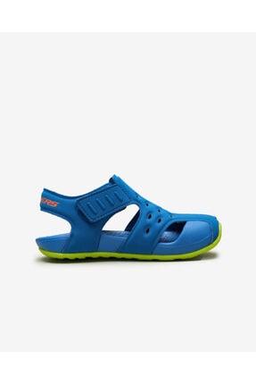 Skechers SIDE WAVE Küçük Erkek Çocuk Mavi Sandalet 1