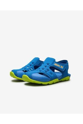 Skechers SIDE WAVE Küçük Erkek Çocuk Mavi Sandalet 2