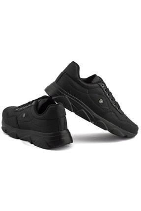 L.A Polo Erkek Siyah Renk Siyah Taban Spor Ayakkabı 019 3