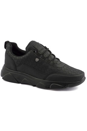 L.A Polo Erkek Siyah Spor Ayakkabı 005 0