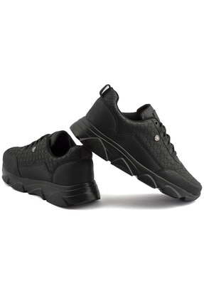 L.A Polo Erkek Siyah Spor Ayakkabı 005 3