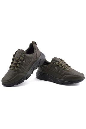 L.A Polo Erkek Haki SiyahSpor Ayakkabı  005 1
