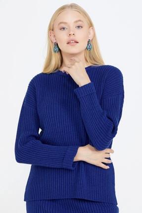 تصویر از ژاکت کش باف پشمی زنانه کد 21K2115-32285.001-R0812
