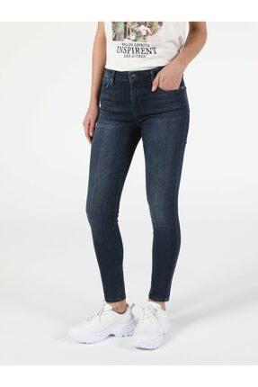 Colin's Mavi Koyu Mavi Kadın Pantolon .CL1053657_Q1.V1_DN08527 2