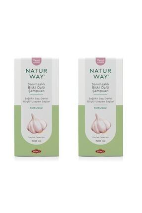 Otacı - Naturway Sarımsaklı Bitki Özlü Şampuan 500 Ml X2 Adet 0