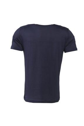 HUMMEL HMLCENTIL T-SHIRT S/S Lacivert Erkek T-Shirt 101086298 2