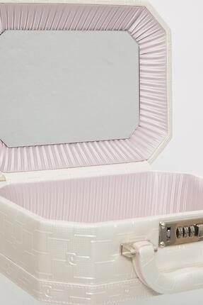 Pierre Cardin Deri Kaplamalı, Şifreli, Aynalı Tıraş & Makyaj & Takı Kutusu - 560 2