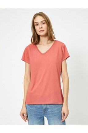 Koton Kadın Pembe T-shirt 3