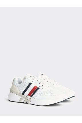 Tommy Hilfiger Erkek Th Lightweight Corporate Runner Sneaker 0