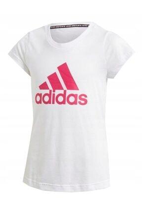 adidas YG MH BOS Beyaz Unisex Çocuk T-Shirt 100524748 0
