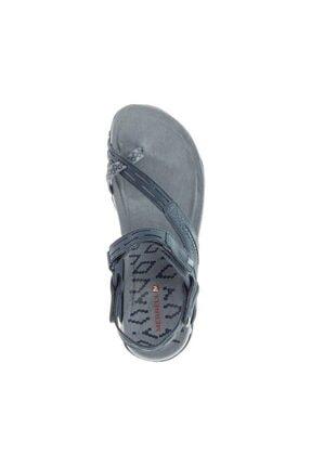 Merrell J98746 Terran Convert 2 Slate Kadın Sandalet 4
