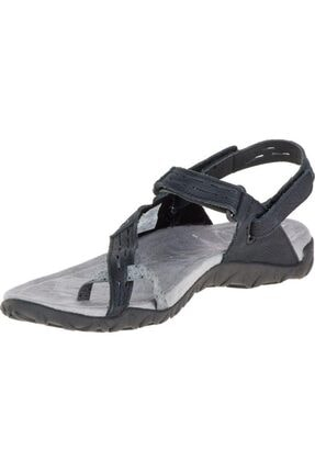 Merrell J55366 Terran Convert 2 Black Kadın Sandalet 2