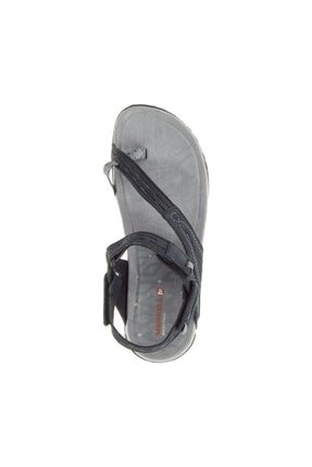 Merrell J55366 Terran Convert 2 Black Kadın Sandalet 4