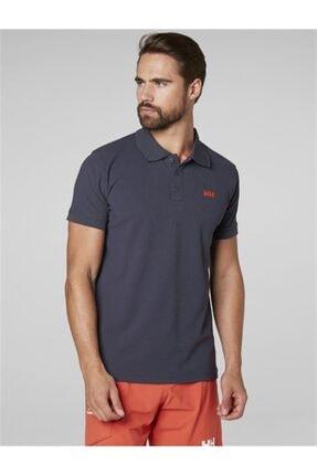 Helly Hansen Driftline Erkek Polo T-shirt Graphite Blue 1