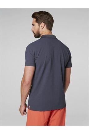 Helly Hansen Driftline Erkek Polo T-shirt Graphite Blue 2