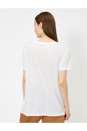 Koton Pullu Kadın Tişört 2