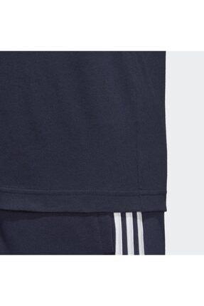 adidas Essentials Plain Tişört - Mavi Du0369| Saruhan Spor 3