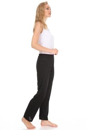 Vivoon Kadın Siyah Supreme Kumaş Pijama Altı 2