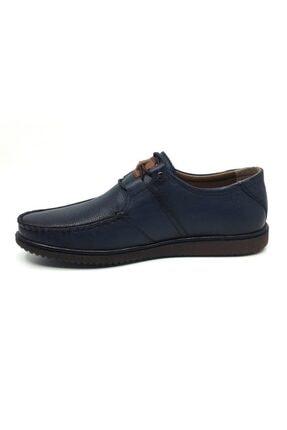 Taşpınar Üçlü %100 Deri Yazlık Tam Rok Erkek Ortopedik Ayakkabı 39-45 2