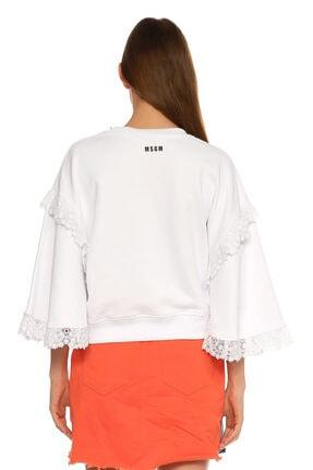 MSGM Beyaz T-shirt 4