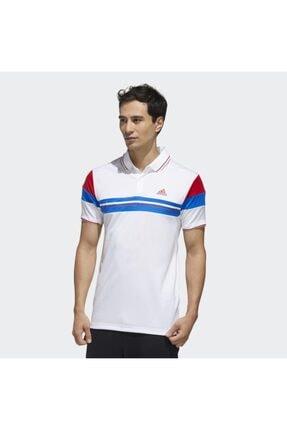 adidas Fk1406 Erkek Beyaz Polo Tişört 0
