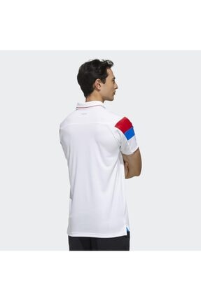 adidas Fk1406 Erkek Beyaz Polo Tişört 1
