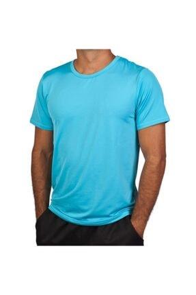 Exuma 171205 Erkek Mavi Spor Tişört 0