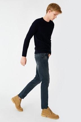 Koton Erkek Indigo Stone Jeans 1KAM43742LDFA6 1