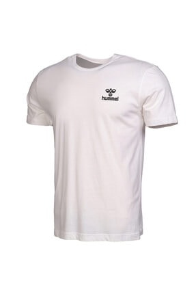 HUMMEL Keaton Beyaz Kısa Kollu T-Shirt 3