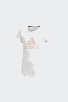 adidas YG MH BOS TEE Beyaz Kız Çocuk T-Shirt 101118170 0