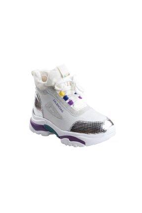 Guja 20k385 Bayan Gümüş Günlük Sporbot Ayakkabı 1
