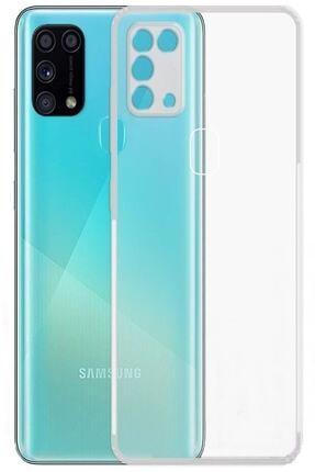 Dijimedia Samsung Galaxy M31 Kamera Korumalı Şeffaf Silikon Kılıf + Tam Ekran Cam Koruyucu 1