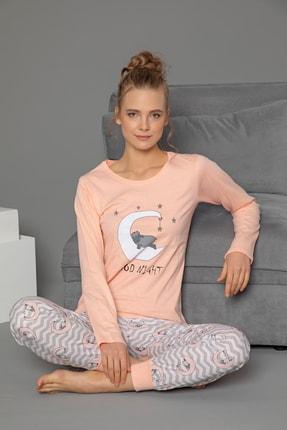 Strawberry Pamuklu Uzun Kol Pijama Takımı 0