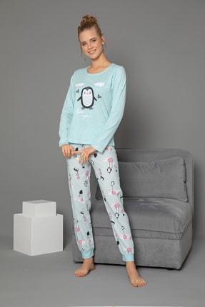 Strawberry Pamuklu Uzun Kol Pijama Takımı 1