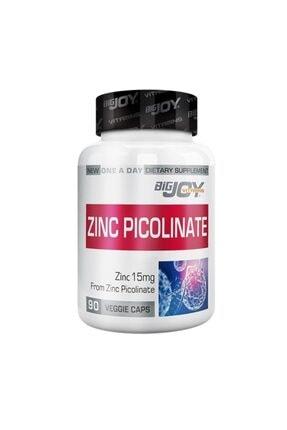 Big Joy Vitamins Zinc Picolinate 90 Bitkisel Kapsül - 0