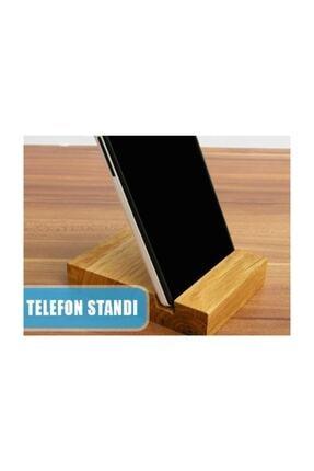 Bibizde Ahşap Telefon Tablet Tutucu Stand 2