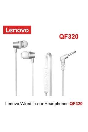 LENOVO Beyaz Kablolu Mikrofonlu Kulaklık Qf320 1