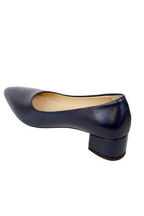 Ustalar Ayakkabı Çanta Lacivert Kadın Hakiki Deri Stiletto 364.2770 2