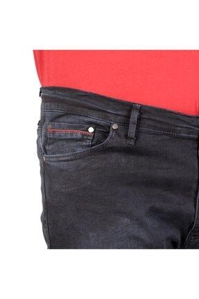 Modexl Büyük Beden Erkek Pantolon Kot 20904 Blue Black 2