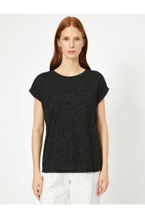 Koton Kadın Siyah Tshirt 0yak13582yk 1