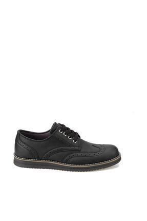 Polaris 92.356617.M Siyah Erkek Klasik Ayakkabı 100413988 1