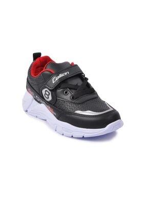 تصویر از 08 Siyah-kırmızı Çocuk Spor Ayakkabı