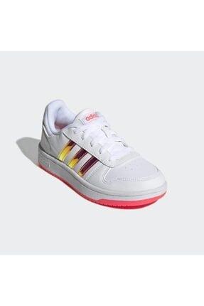 adidas Hoops 2.0 Spor Ayakkabı - Fw7616 1