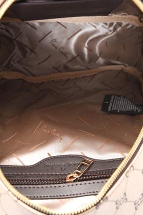 Pierre Cardin Altın 4P Desen Sırt Çantası 05PO20Y1415 4