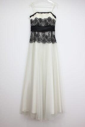 Kadın Beyaz Fistan Store Dantelli Abiye Elbise fistan dantelli abiye elbise